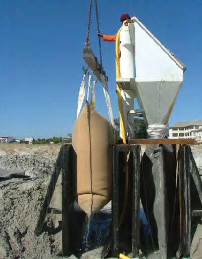 envirorock container filling