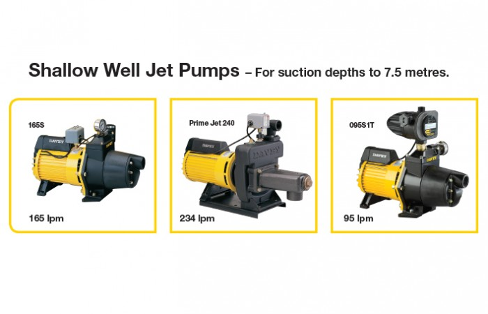 groundwater Extraction Shallow Well Jet Pumps