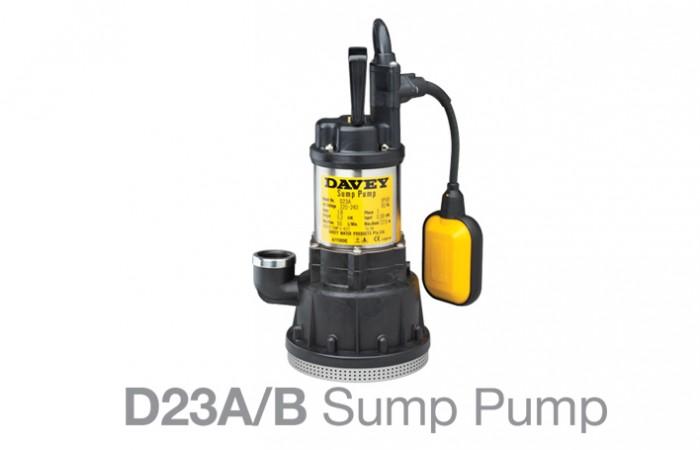 sump Pump D23A1